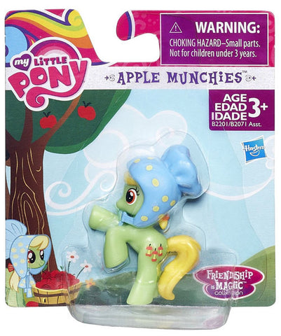 My Little Pony Friendship is Magic Collection Apple Munchies Figure - Theblankflank