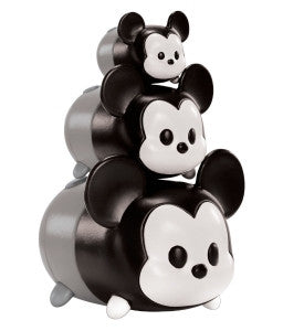 TSUM TSUM DISNEY Vinyl Figure BLACK AND WHITE MICKEY