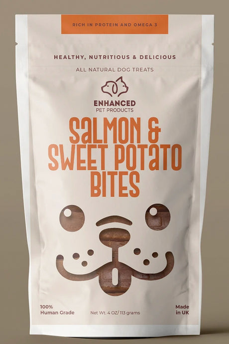 Salmon & Sweet Potato Bites (Amazing!)