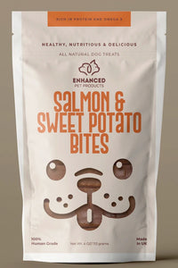 EPP Treats Campaign: Salmon & Sweet Potato Bites 3-PACK (Amazing Deal!)