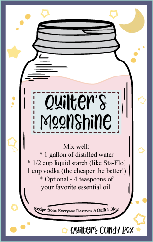 Quilter's Moonshine Free Printable