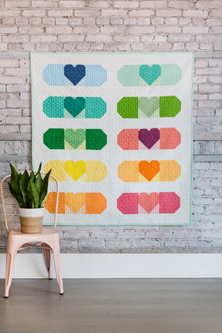 Band-Aid Quilt - Paper pattern