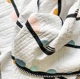 Easy curve quilt, summer soiree quilt