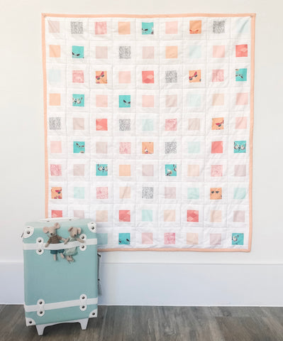 Picture Frames Quilt - PAPER Pattern