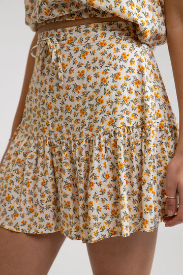 SORRENTO SKIRT - ECRU