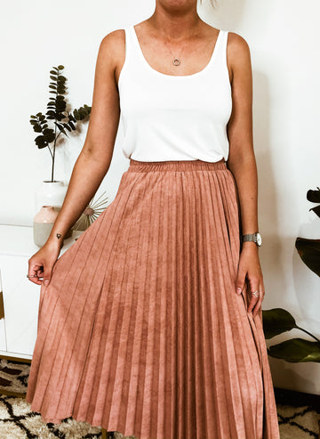 KAYA PLEATED SKIRT