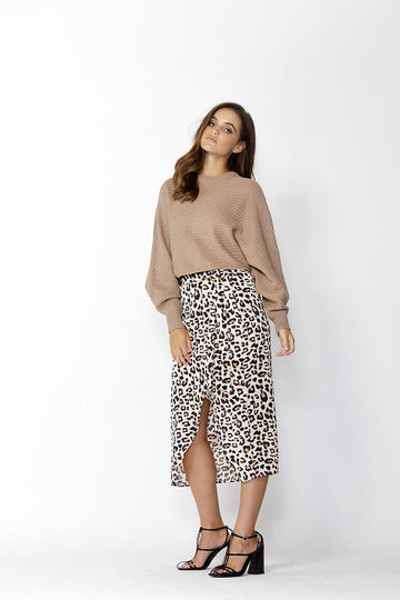 Independance Cropped Knit - Cinnamon
