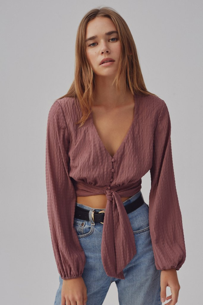Basis Top in Mauve