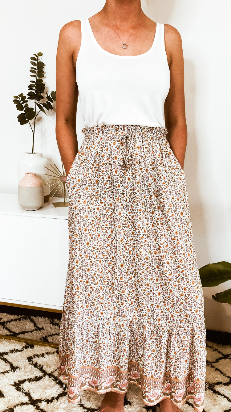 WAVERLY MAXI SKIRT