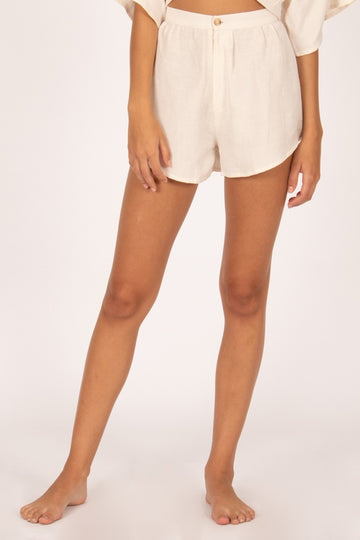 Canopy high waisted short woven summer