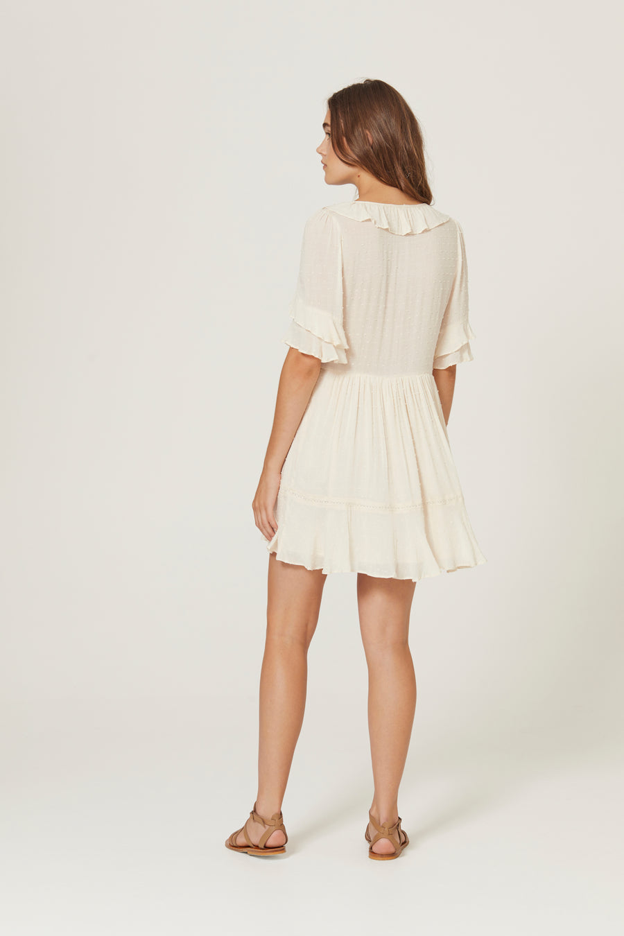 Frida Mini Dress Off White