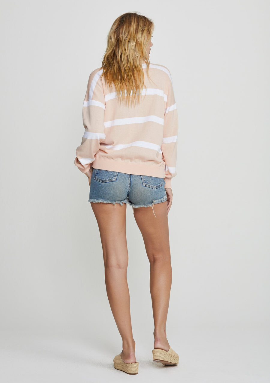 Beaumont Knit Sweater Blush