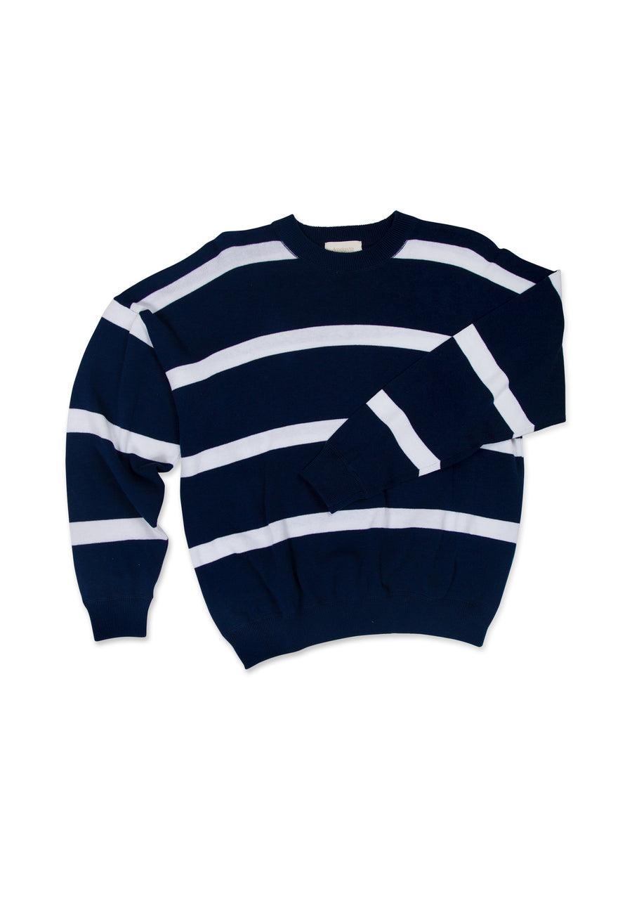 Beaumont Knit Sweater Navy
