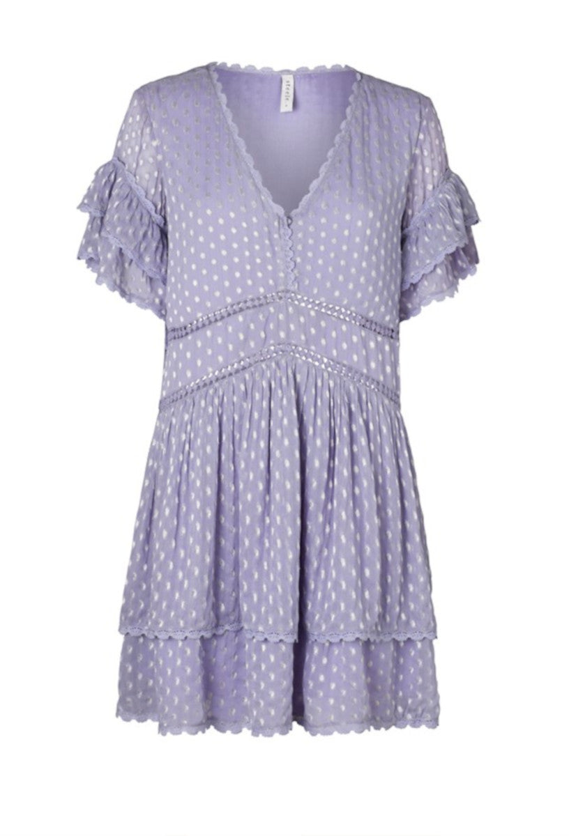 Steele pretty Luella dress in Powder Blue