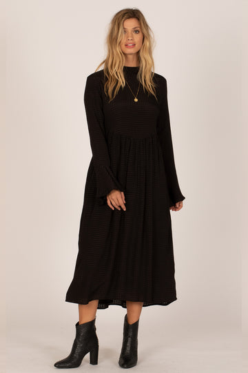 LIA LONG SLEEVE DRESS