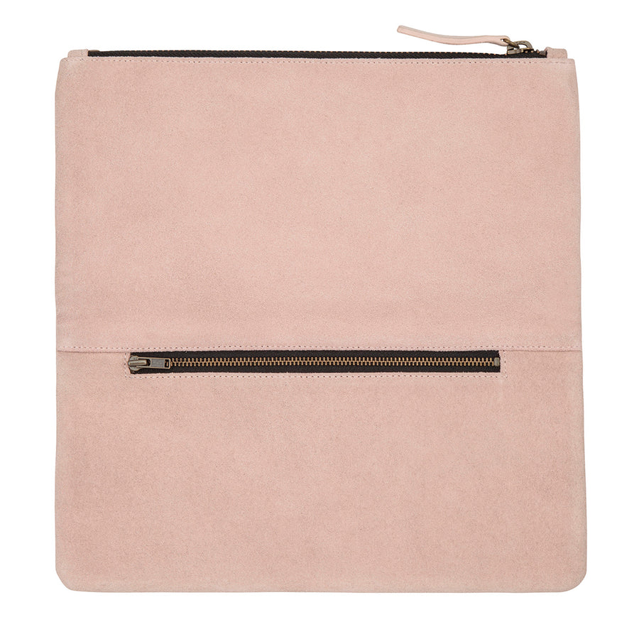 Feel The Night Clutch - Dusty Pink