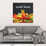 Save The Gummy Bears Canvas