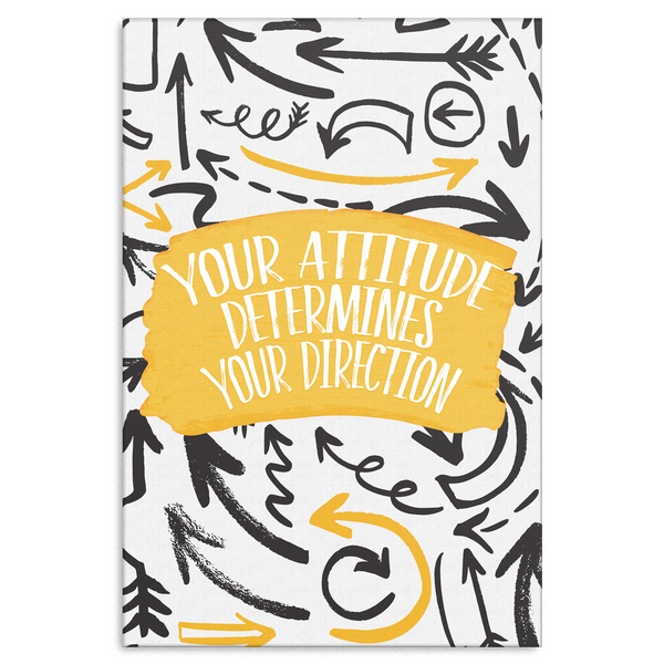 Attitude Motivational Canvas