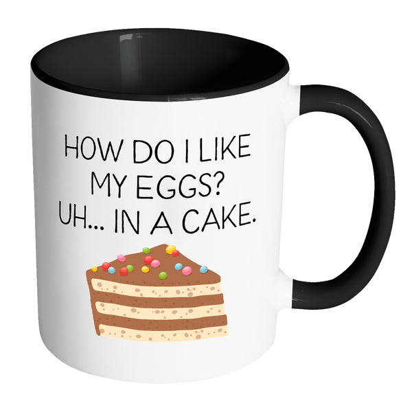 Eggs In Cake 11oz Mug