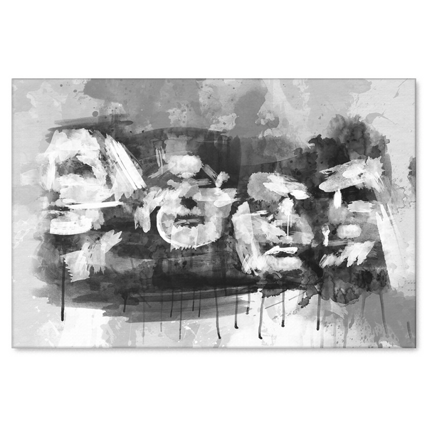 Abstract Rushmore Canvas
