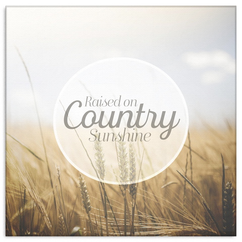 Country Sunshine Canvas