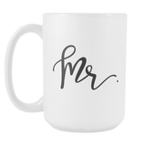 Mr. & Mrs. 15oz Mugs