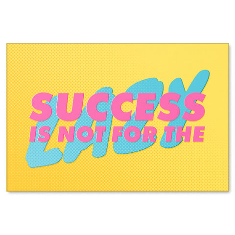 Success Motivational Canvas