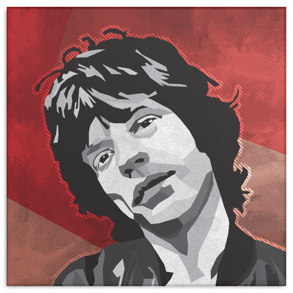 WPAP Canvas - Jagger