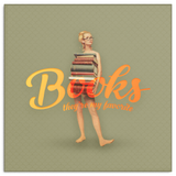 Books Canvas - Blonde