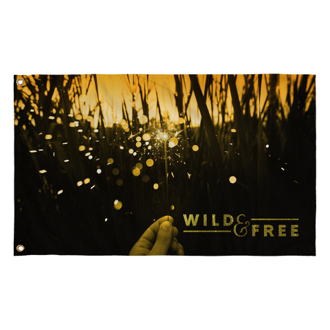 Wild and Free Flag