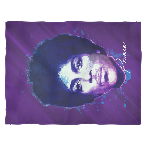 Purple Pain Fleece Blanket