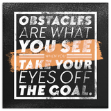 Obstacles Motivational Canvas