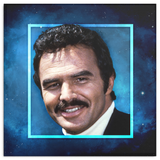 Dreamy Staches Canvas - Burt Reynolds