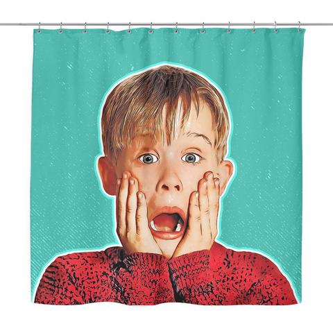 Kevin McCallister Shower Curtain