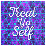 Treat Yo Self Canvas