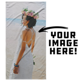 Personalized Your Own Beach Towel! - Vertical