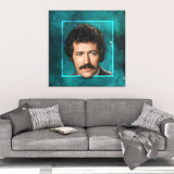 Dreamy Staches Canvas - Alex Trebek