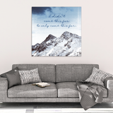 Come This Far Motivational Canvas