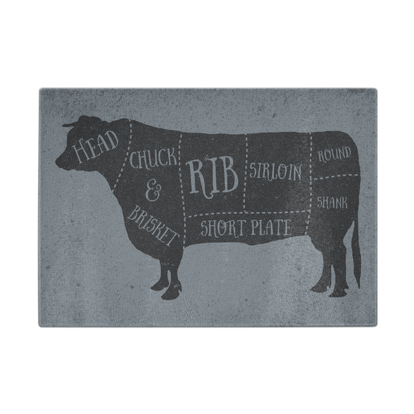 Butcher Cow Cutting Board