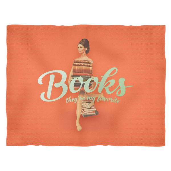 Books Are My Fave - Brunette Blanket