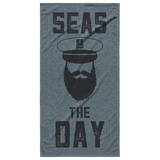 Seas The Day Beach Towel