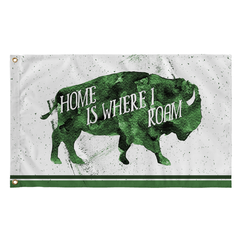 Home Is Where I Roam Flag