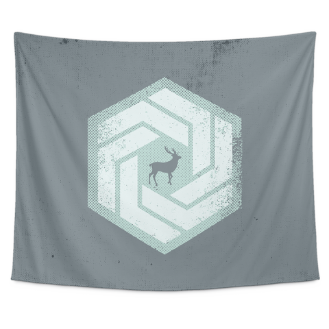 Deer Hex Tapestry