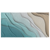 Abstract Tide Beach Towel