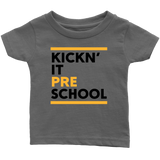Kickn' It Pre-School - Black & Yellow