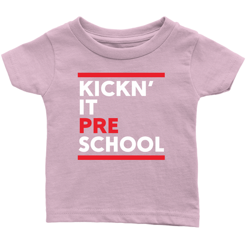 Kickn' It Pre-School - White & Red