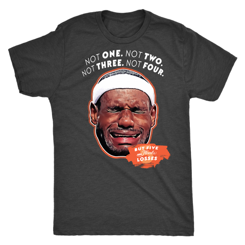 Crying LeBron Tee