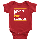 Kickn' It Pre-School - White & Yellow