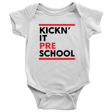 Kickn' It Pre-School - Black & Red