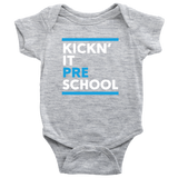 Kickn' It Pre-School - White & Blue